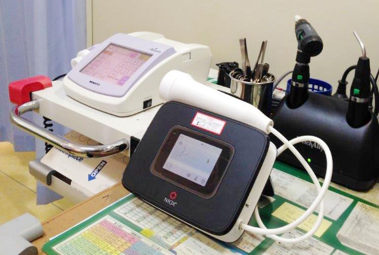 おばた小児クリニック小児科呼吸機能検査機器